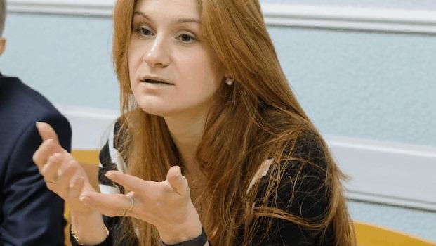 Maria Butina  tillbaka i Moskva